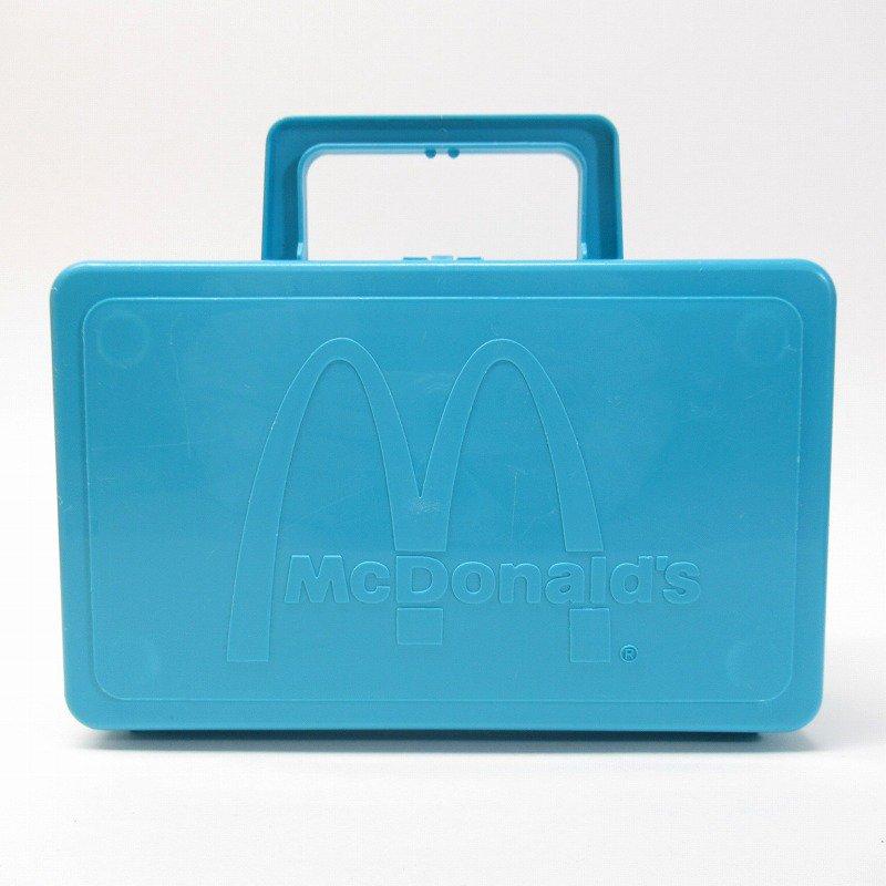 マクドナルド 1985年 地域限定配布 ランチボックス 青