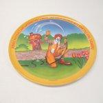 プラスチック&メラミン食器  マクドナルド 1977年 シーズンズシリーズ プレート 春 C