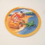 プラスチック&メラミン食器  マクドナルド 1977年 シーズンズシリーズ プレート 夏 A アウトレット