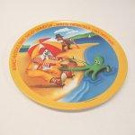 プラスチック&メラミン食器  マクドナルド 1977年 シーズンズシリーズ プレート 夏 B アウトレット