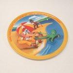 プラスチック&メラミン食器  マクドナルド 1977年 シーズンズシリーズ プレート 夏 C