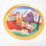 プラスチック&メラミン食器  マクドナルド 1977年 シーズンズシリーズ プレート 秋 A