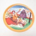 プラスチック&メラミン食器  マクドナルド 1977年 シーズンズシリーズ プレート 秋 B