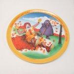 プラスチック&メラミン食器  マクドナルド 1977年 シーズンズシリーズ プレート 秋 C