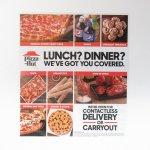 ピザハット 広告 Lunch? Dinner?