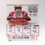 ピザハット 広告 アメフト