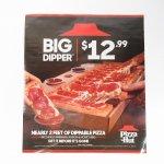 ピザハット 広告 BIG