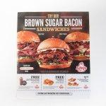 ヴィンテージ広告マガジン切抜き  アービーズ 広告 Brown Sugar Bacon