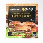 ヴィンテージ広告マガジン切抜き  カールズジュニア 広告 Burger Escape B