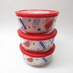 現行品・ガラス商品  パイレックス 4カップ 並行輸入品 アメリカンピクニック