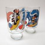 キャラクター  アンカーホッキング ディズニー ミッキーとミニーのサーフィン ビッググラス