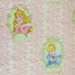 キャラクター  ヴィンテージシーツ ディズニー 2人のプリンセス シンデレラ&オーロラ フラット