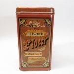 その他  キャニスター 1977−78年 ブリキ缶 Golden Harvest Flour