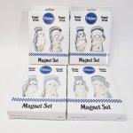 マグネット  ドウボーイ & ポピーフレッシュ 陶器製マグネット 2個セット デッドストック箱付き