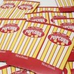パッケージ&パッケージに味のある雑貨&チーズボックスなど  紙もの雑貨 WEST BEND ポップコーン用ボックス デッドストック