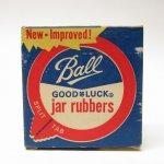 パッケージ&パッケージに味のある雑貨&チーズボックスなど  紙もの雑貨 1950〜60年代 Ball社 ゴムパーツ用 紙製ボックス