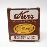 パッケージ&パッケージに味のある雑貨&チーズボックスなど  紙もの雑貨 1960年代 Kerr社 蓋用 紙製ボックス B