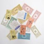 チケット、スコアパッドなどの紙物・紙モノ雑貨  紙モノ 1960年代 モノポリー紙物アソート 16ピース A