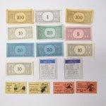 チケット、スコアパッドなどの紙物・紙モノ雑貨  紙モノ 1960年代 モノポリー紙物アソート 16ピース B