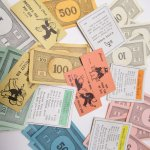 チケット、スコアパッドなどの紙物・紙モノ雑貨  紙モノ 1960年代 モノポリー紙物 もりもりアソート C