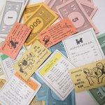 チケット、スコアパッドなどの紙物・紙モノ雑貨  紙モノ 1960年代 モノポリー紙物 もりもりアソート D
