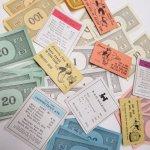チケット、スコアパッドなどの紙物・紙モノ雑貨  紙モノ 1960年代 モノポリー紙物 もりもりアソート E