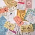 チケット、スコアパッドなどの紙物・紙モノ雑貨  紙モノ 1960年代 モノポリー紙物 もりもりアソート F
