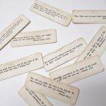 チケット、スコアパッドなどの紙物・紙モノ雑貨  紙モノ 1940~60年代 聖書の言葉 タグ10枚セット C