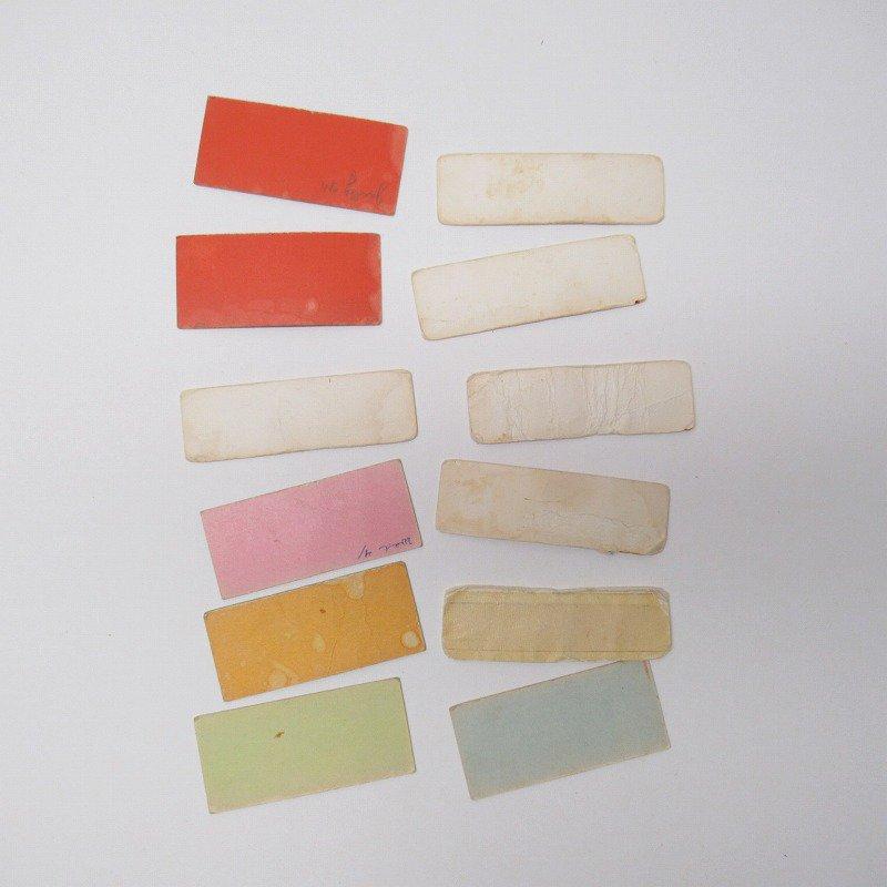 紙モノ 1940~60年代 聖書の言葉 カラータグ入り12枚セット D【画像8】