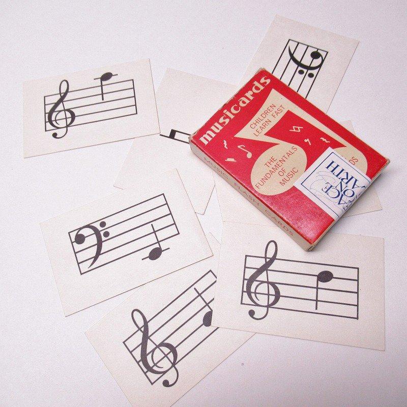 紙モノ 1950~60年代 ミュージックカード 7枚セット A