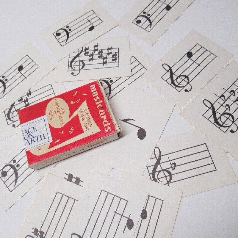 紙モノ 1950~60年代 ミュージックカード 17枚セット B