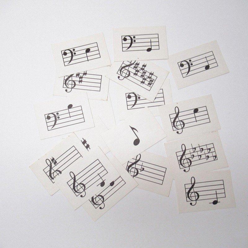紙モノ 1950~60年代 ミュージックカード 17枚セット B【画像2】