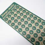 チケット、スコアパッドなどの紙物・紙モノ雑貨  紙モノ 1950~60年代 ビンゴシート バンカーズチャート