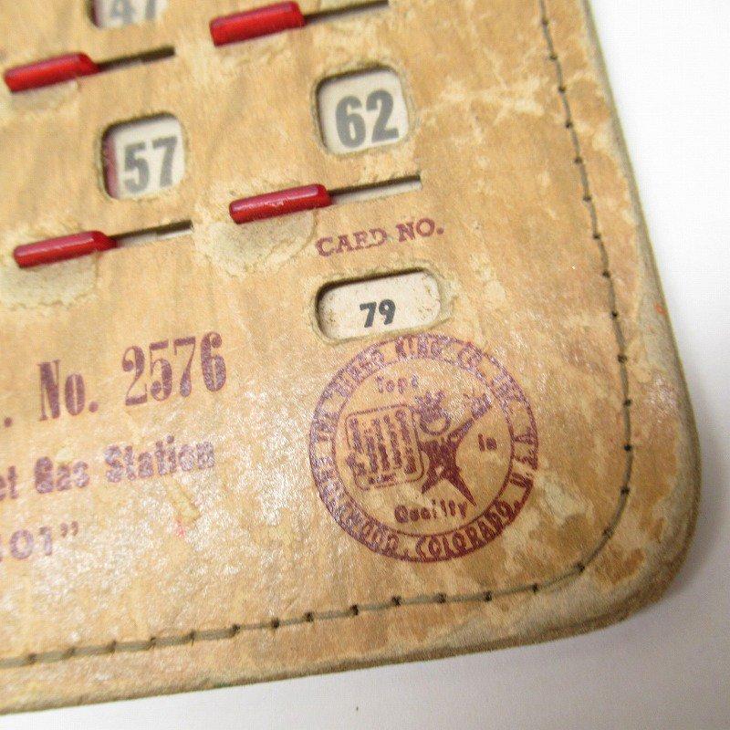 紙モノ 1950~60年代  F.O.E. ビンゴシート ボード番号79【画像3】