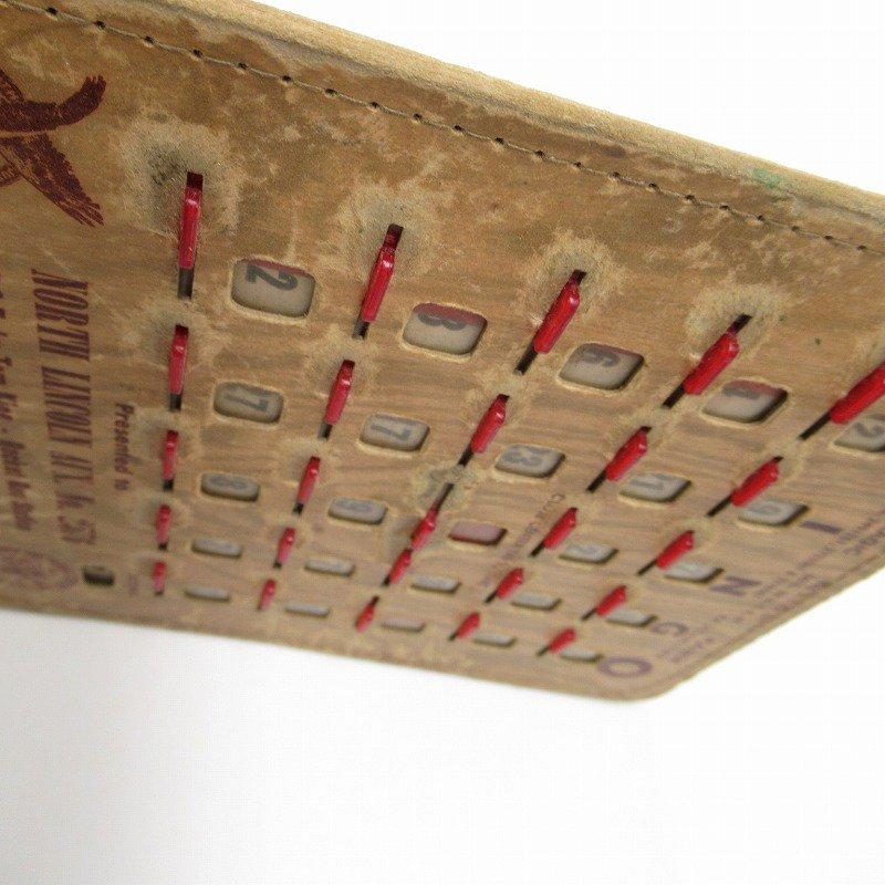 紙モノ 1950~60年代  F.O.E. ビンゴシート ボード番号79【画像7】