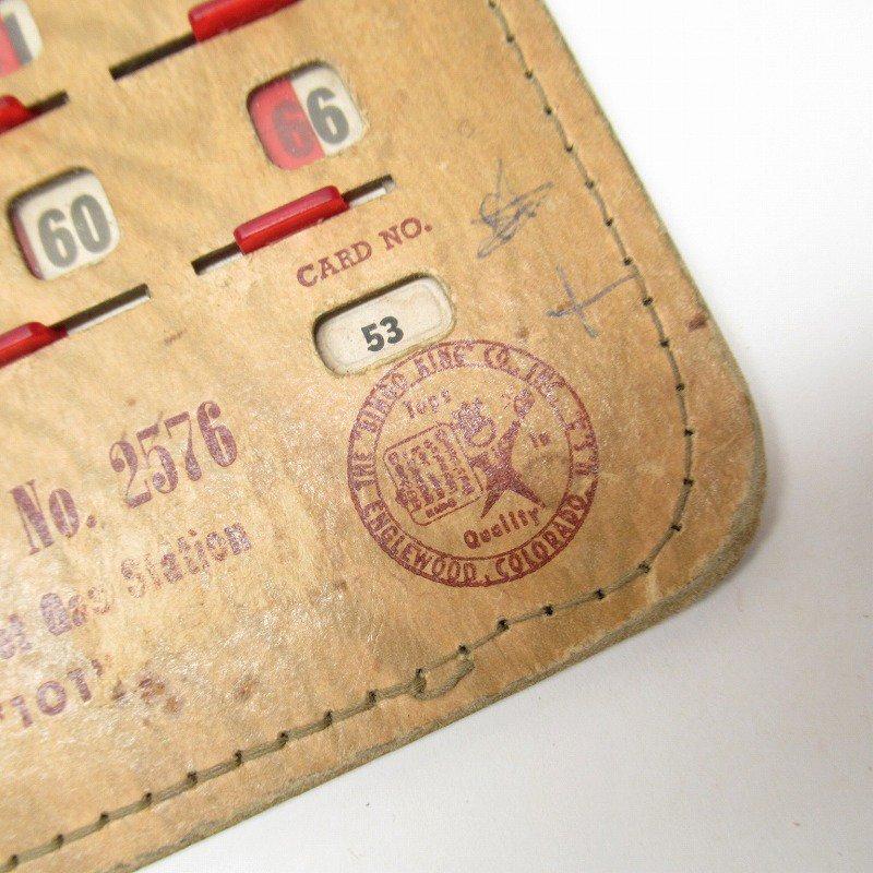 紙モノ 1950~60年代  F.O.E. ビンゴシート ボード番号53【画像2】