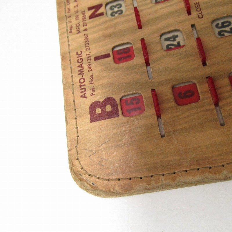 紙モノ 1950~60年代  F.O.E. ビンゴシート ボード番号43【画像4】