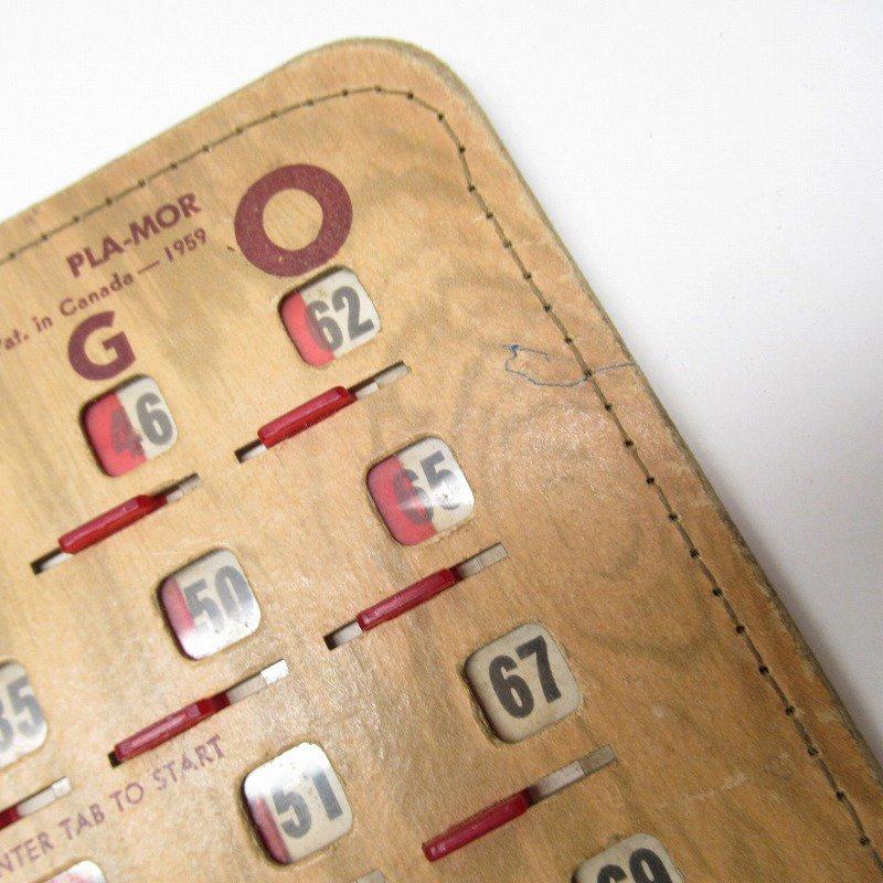 紙モノ 1950~60年代  F.O.E. ビンゴシート ボード番号43【画像6】