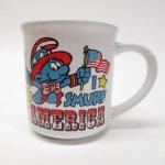 キッチン&リビング  スマーフ マグ 1982年 Smurf America