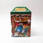 販促系  M&Ms エムアンドエムズ クリスマス ティン缶 Reindeer Farm