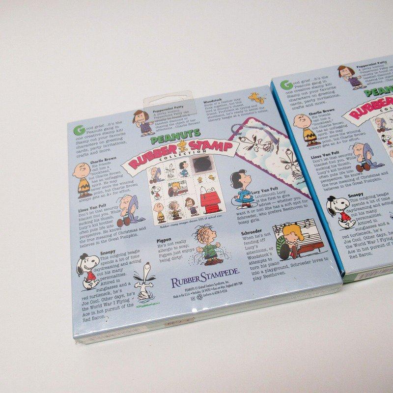 スヌーピー 11種 ウレタンスタンプセット スタンプパッド付き【画像2】