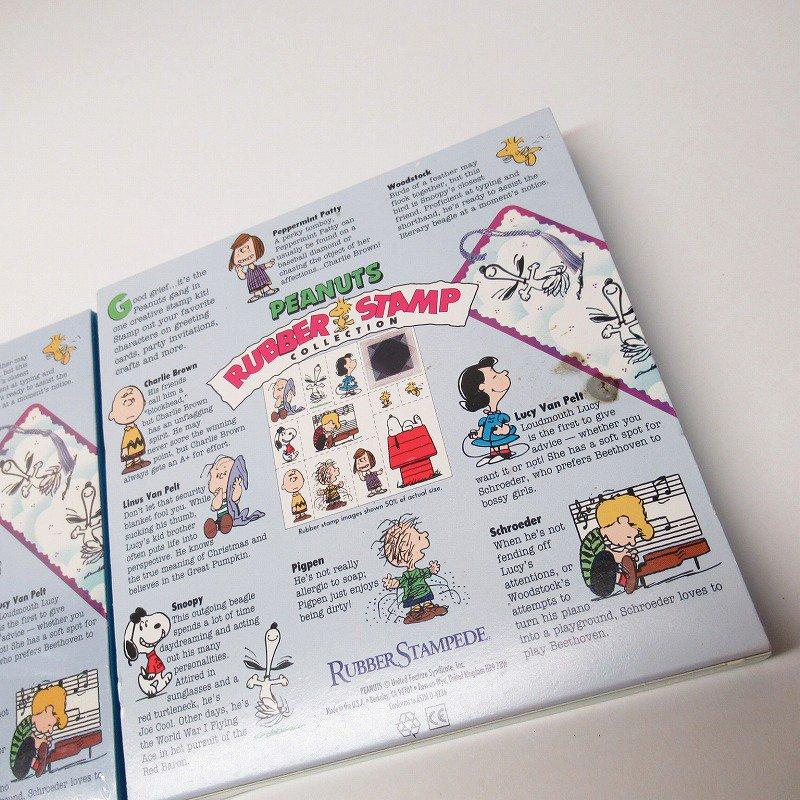 スヌーピー 11種 ウレタンスタンプセット スタンプパッド付き【画像3】