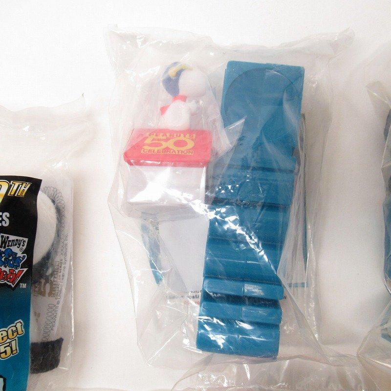 スヌーピー ウェンディーズ ピーナッツ50周年記念トイ 6種コンプリートセット デッドストック【画像5】