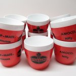 スタンダードオイル & AMOCO ウエストエンド社 プラスチック製カップ