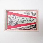 使用済  アンティークポストカード 1917年 ドライバー