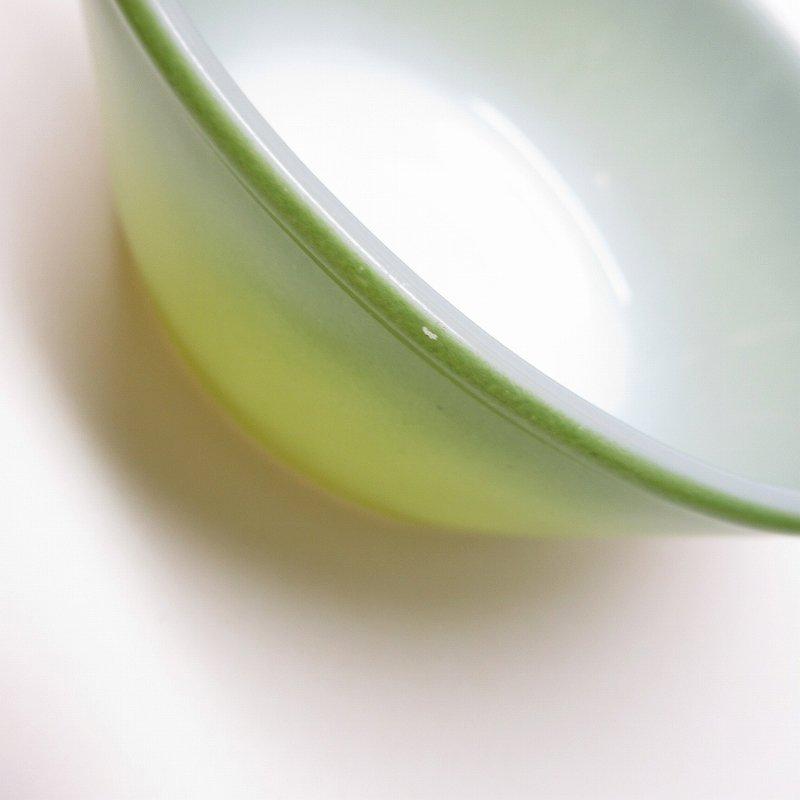 ファイヤーキング グリーングラデーション サラダボウル B【画像6】