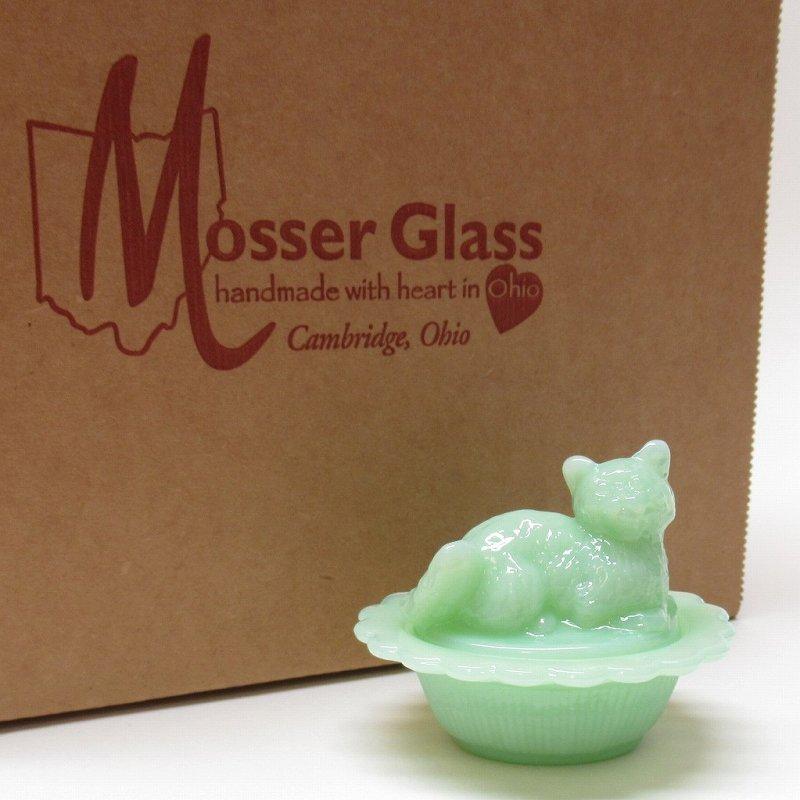 モッサーグラス Mosser Glass ジェダイ 仔猫 ミニトリンケット