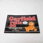 ガーフィールド  ガーフィールド 1980年代~90年前半 コミックブック Garfield rolls on