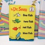 E.T.など他キャラクター  ドクタースース Dr.Seuss One fish, two fish, red fish, blue fish ヴィンテージ絵本
