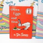E.T.など他キャラクター  ドクタースース Dr.Seuss Green eggs and hams ヴィンテージ絵本 A